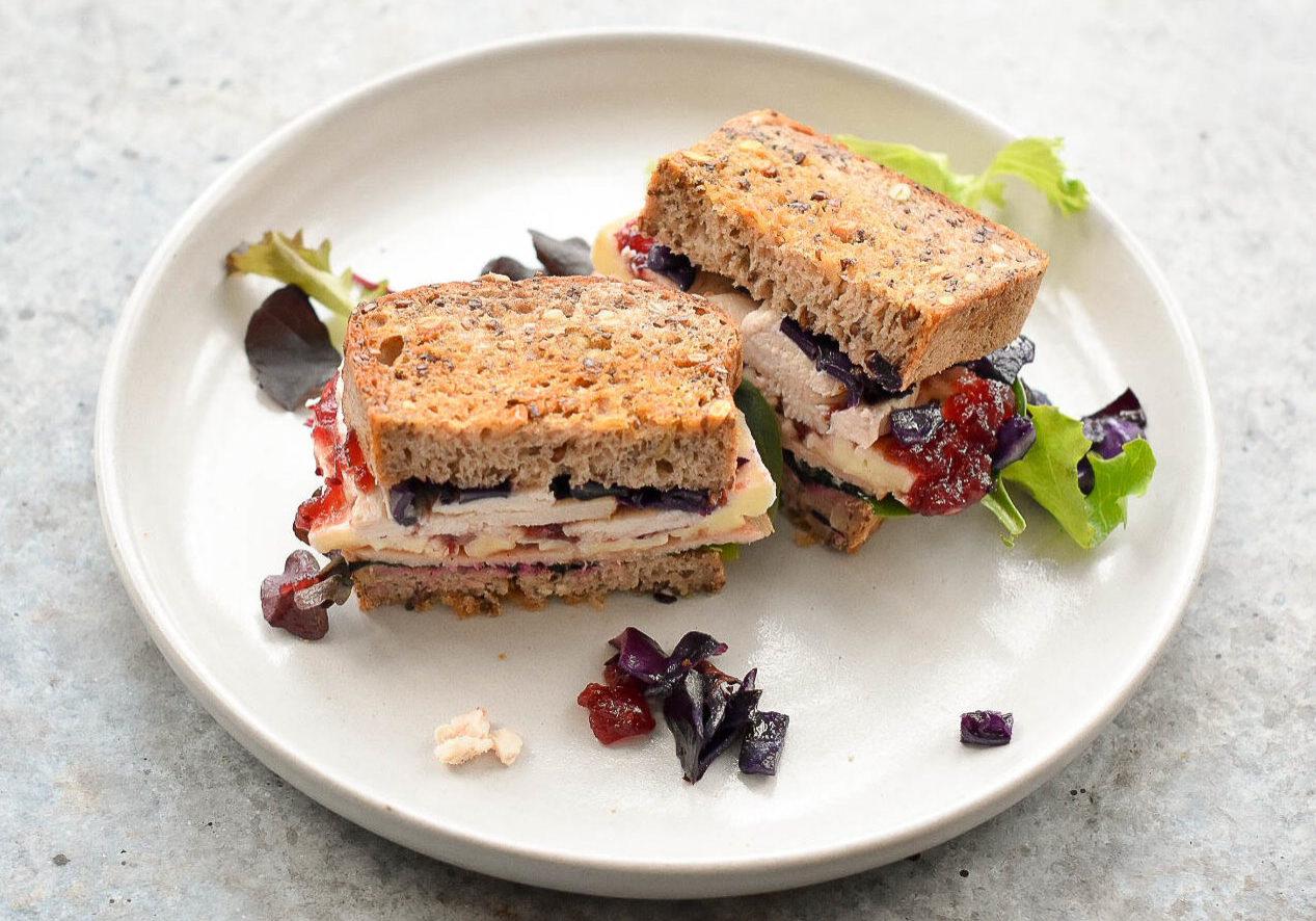 Turkey xmas sandwich